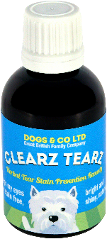 Clearz Tearz, herbal tear stain prevention